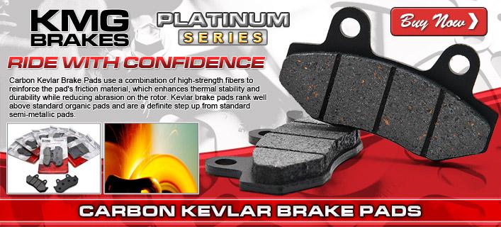 KMG Carbon Kevlar Brake Pads