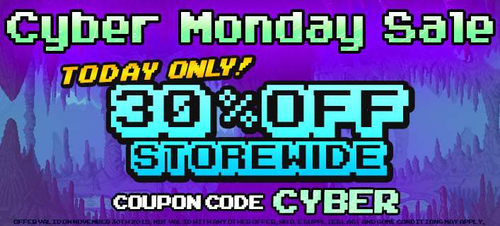 30% Off Cyber Monday Sale 2015