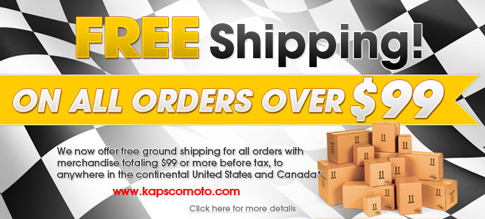 FREE Shipping on orders for $99!